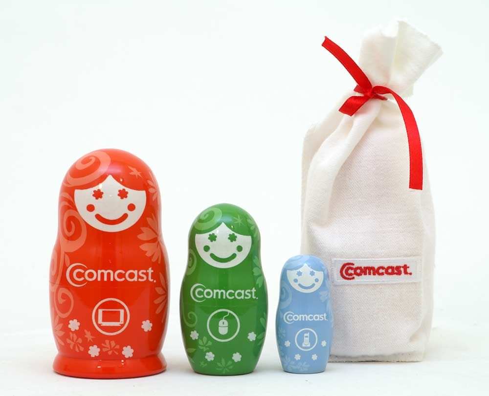 Comcast Russian matryoshka doll