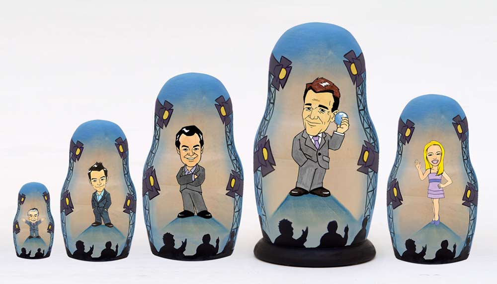 Game Show Network Russian matryoshka doll