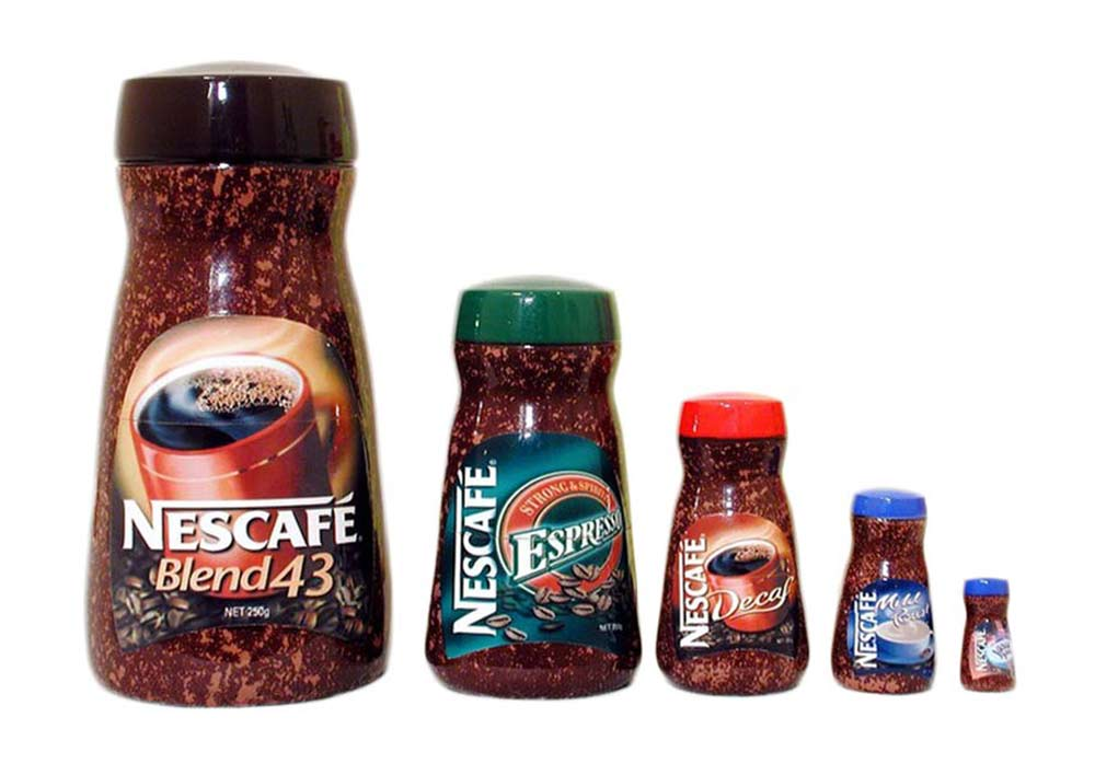 Nescafe Russian matryoshka doll