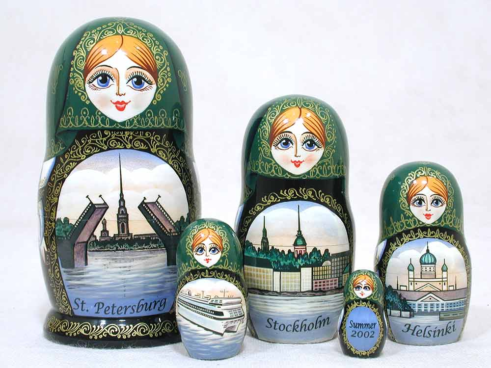 Nu Skin Cruise Russian matryoshka doll