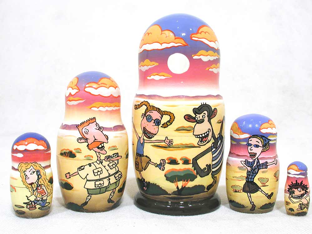 Wild Thornberrys Movie Russian matryoshka doll