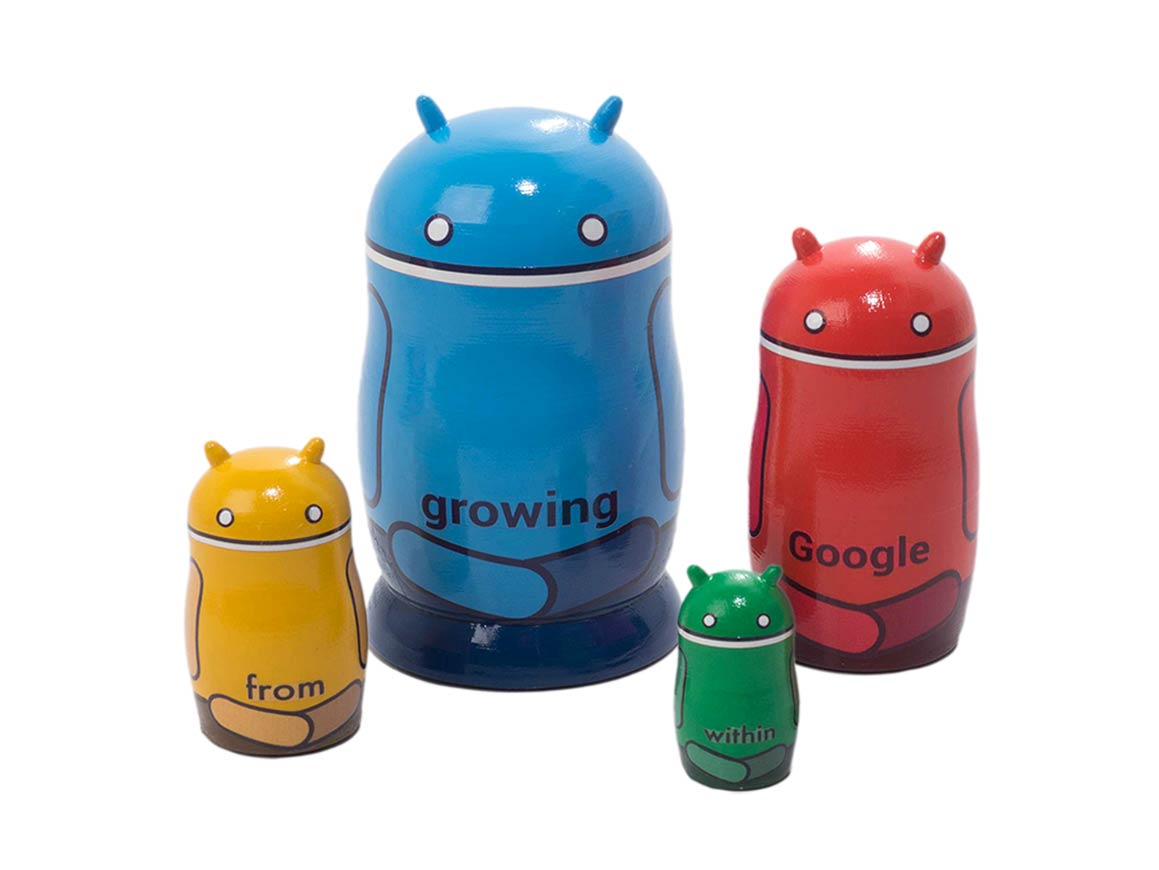 Google Android nesting doll
