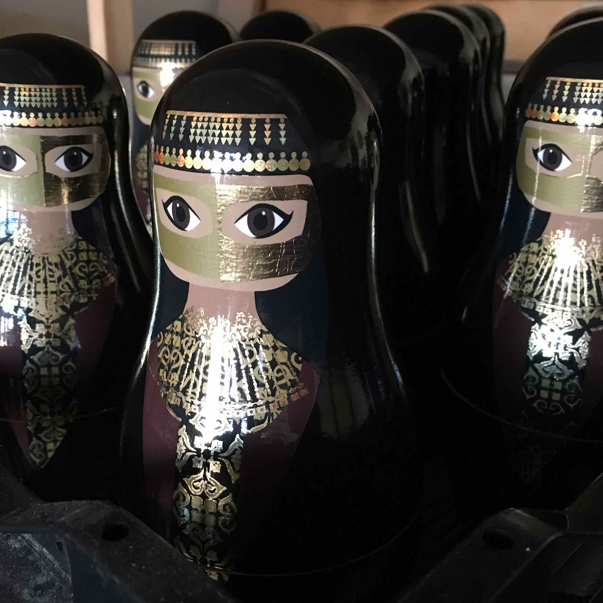 Bespoke Custom Nesting Doll – Arab