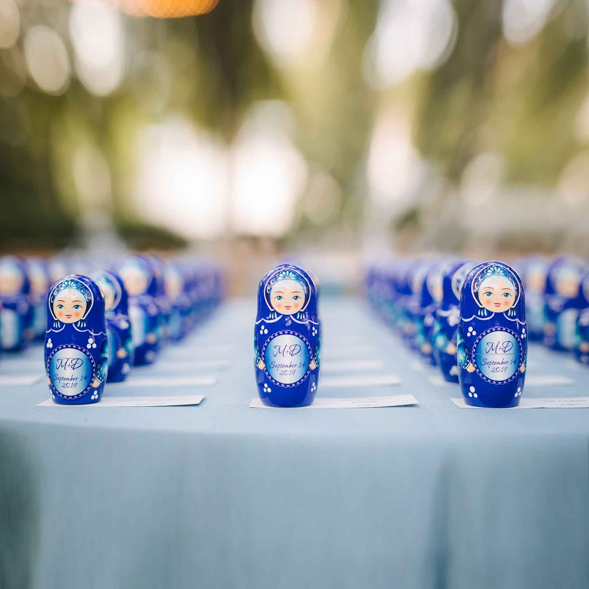 Bespoke Custom Nesting Doll – Wedding Favours