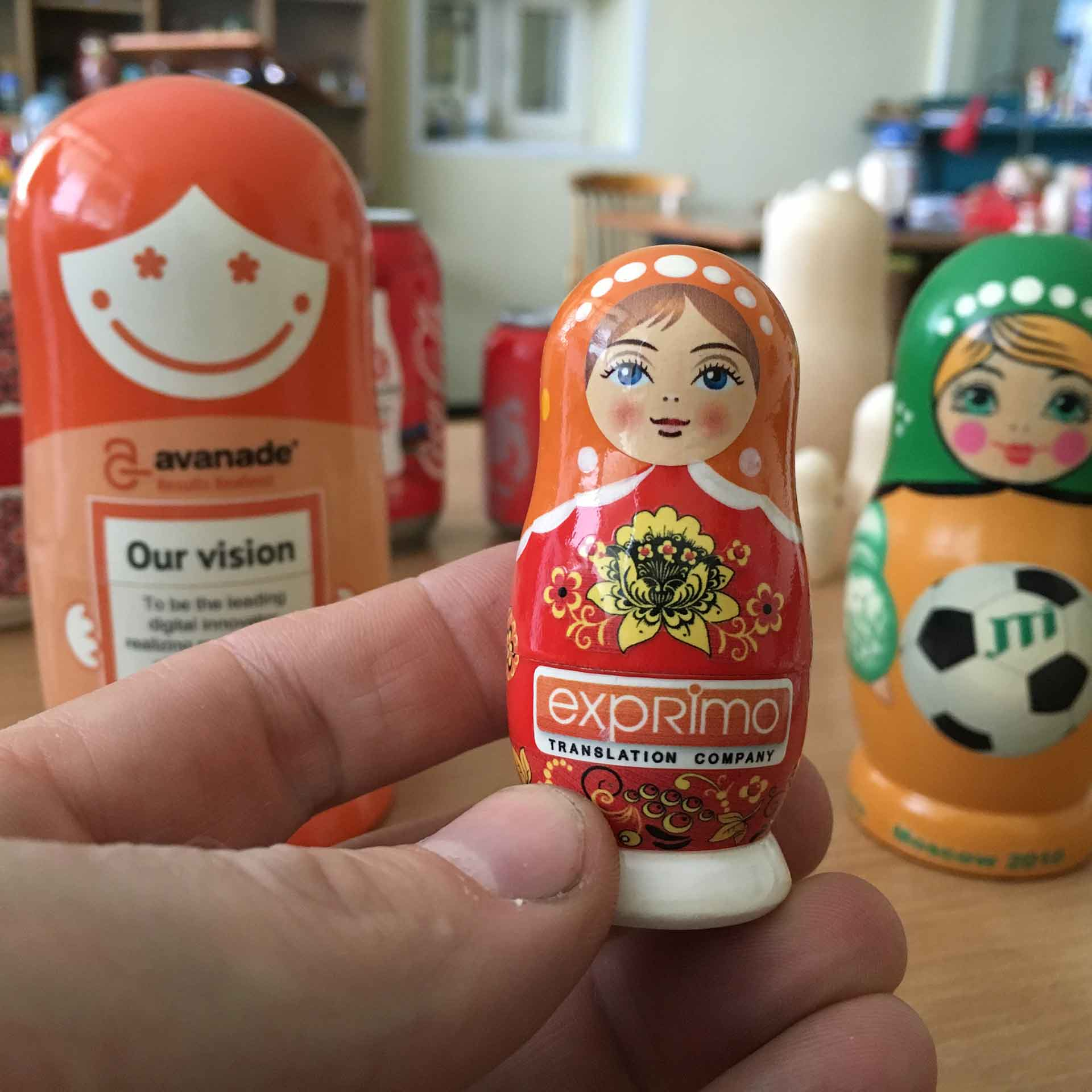 Bespoke Custom Nesting Doll – Translation