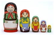 New Matryoshka Dolls from Golden Cockerel