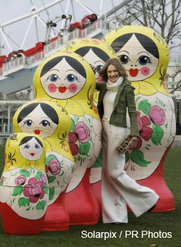 World's Largest Nesting Dolls!