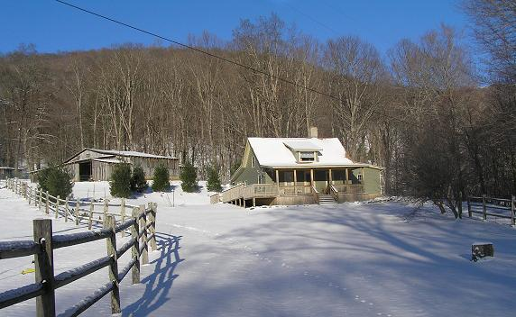 Boone Vacation Rental: The Old Farmhouse at Willet Ponds Horse F