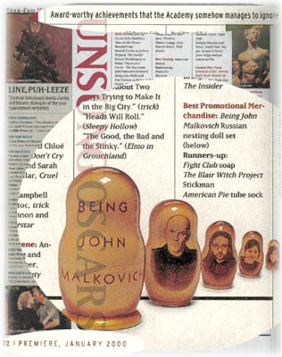 """Being John Malkovich"" Nesting Doll"