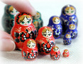 World's Smallest Nesting Dolls!