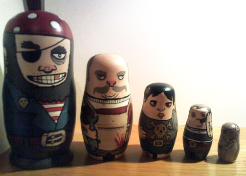 Nesting Dolls Our Customers Have Painted