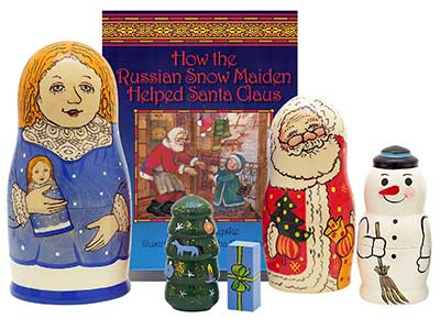 The Snow Maiden's Gift Book & Doll Set