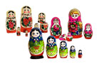 Set of 3 Traditional Russian Nesting Dolls