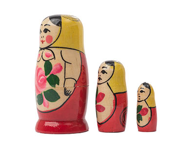 Semenov Nesting Doll 3pc./3