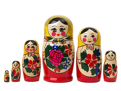 Semenov Doll 6pc./5