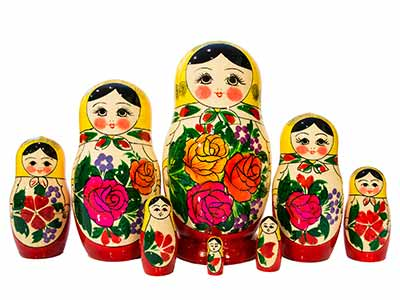 Semenov Doll 8pc./8