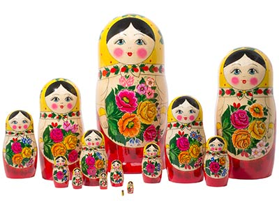 Semenov Doll 15pc./13