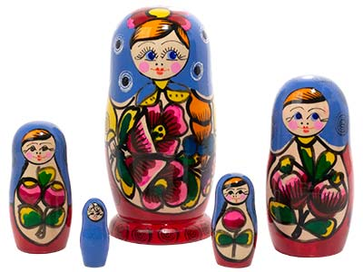 Polkhovski Maidan Doll 5pc./5.5