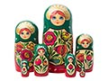 Volga Maiden Nesting Doll 7pc./8
