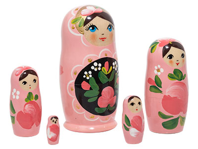 Pink Art Doll 5pc../4