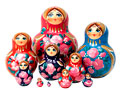 Multicolored Nesting Doll 10pc./5