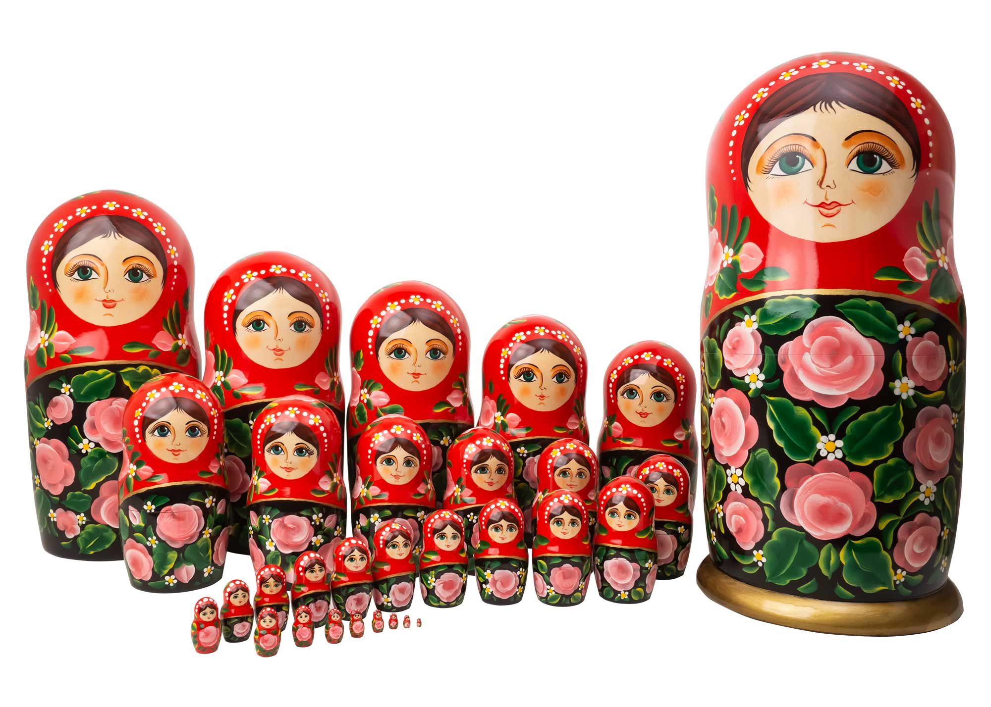 5903e2531f3f 30-Piece Russian Nesting Doll