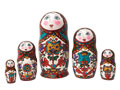 Northern Dvina Art Doll 5pc./6