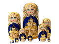 Large Golden Ring Nesting Doll