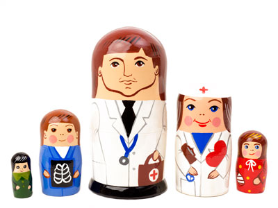 Doctor Doll 5pc./5