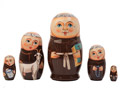 Franciscan Monk Nesting Doll