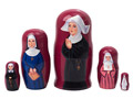 Nun Doll 5pc. 4