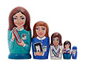 Ms. Dentist Doll 5pc./5