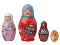 Babooshka and Rechenka Doll