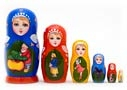 Turnip Fairy Tale Nesting Doll