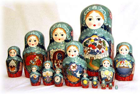 Czar Saltan Doll 15pc./12