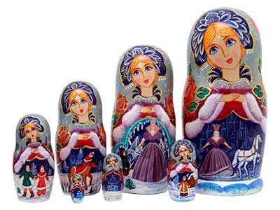 Snow Queen Doll 7pc./8