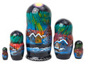 Northern Lights Nesting Doll