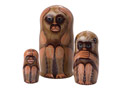 No Evil Monkeys Nesting Doll