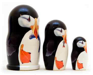 Puffin Doll 3pc./3.5
