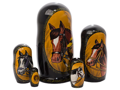 English Horse Doll 5pc./6