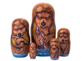 Alaskan Brown Bear Doll 5pc./6