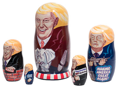 Trump's Campaign Doll 5pc./6