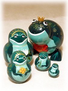 Frog Prince Doll 5pc./4