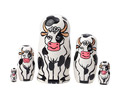 Holstein Cow Nesting Doll