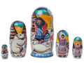 Eskimo Legends Nesting Doll 5pc./6
