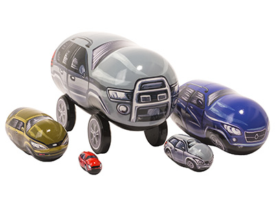 Nesting Car Doll 5pc./5