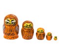 Mini Owl Nesting Doll