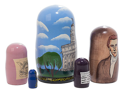 Nauvoo Nesting Doll 5pc./4