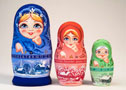Calendar Matryoshka 3pc./5""