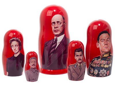 The Death of Stalin Movie Doll 5pc./8